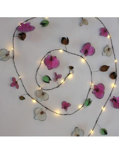 Orkide lyskæde Light Style London