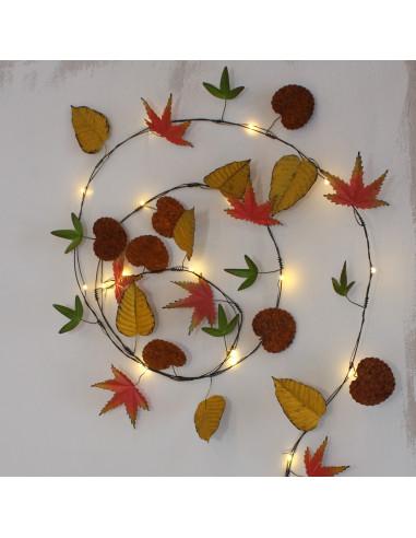 Efterårs lyskæde